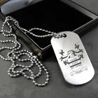 Family crest/Coat of Arms dog tag (dog tag) in a Gift Box