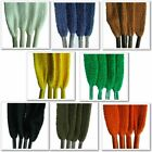 Flat Weave 8mm Laces - Lengths 45cm to 180cm - For Shoes, Boots, Trainers
