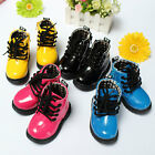 New Cute Baby Girls Boys Martin Boots Shoes Childrens Kids Water-proof Lace Up