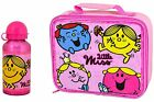 OFFICIAL LITTLE MISS LUNCH BAG OR WATER BOTTLE SCHOOL GIRLS KIDS GIFT BOX