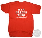 It's a 'Blades' Thing Sheffield United Football Funny Custom T-Shirt + Gift Box