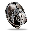 2014 Fly Racing F2 Carbon Acetylene Helmet Black-White Adult L Motocross Gear