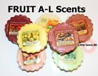 YANKEE CANDLE TART MELT ** FRUIT SCENTS **LISTING A ~ REFRESHING & JUICY