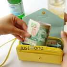 Portable Chic Women Wallet PU Leather Case Purse Phone Money Cards Slots Bags