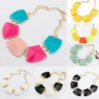 NEW Fashion Gems Vintage Bib Statement Mixed Necklace Chain Chunky Collar Party