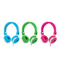 Love Heart Kids Childs Boys Girls Dj Headphones For Cell Phones Tablets Dvd Ipod