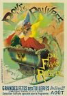 AP87 Vintage Grande Fete Art Holiday French Advertisement Poster A1/A2/A3/A4
