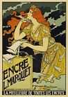 AP128 Vintage Encre L.Marquet Best Of All Inks Advertisement Poster A1/A2/A3/A4
