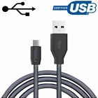 NXET lot Android Durable Braided Data Sync Charging Charger Cable Lead Cord