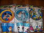 Vintage Beach Party Pack for 8 Rare Snow White Goofy or Pebble NOT a LOT NOS