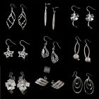 New Fashion Shine Plating 925 Silver Jewelry Multi Styles Earrings Ear Studs Hot