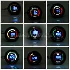 "2"" 52mm LED Water/Temperature/Oil Pressure/Tachometer/Volt/Boost Air Fuel Gauge"