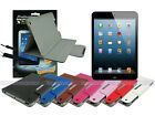 Leather Case+Screen Cleaner Pad+Stylus for iPad Mini