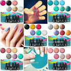 Nail Art Tips 6pc Soak Off Polish Set UV LED Gel Polish Long-lasting Glitter Kit