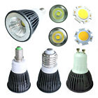 COB E27 Gu10 E14 3W 4W Cool / Warm White LED High Power Lamp Bulb Light 85V-265V