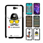 U5H Printed Retro Tribal Quote Art Case Skin For Samsung Galaxy Note II 2 N7100