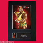 HULK HOGAN WWE Signed Autograph Mounted Photo REPRODUCTION PRINT A4 210 x 297mm