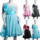 Women's Formal Short Bridesmaid Dress Mini Evening Cocktail Party Prom Ball Gown