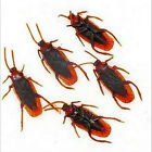 Realistic Simulation Rubber Cockroach Roach scary Bug  mischievous toys