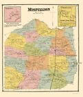 Old City Map - Mispillion Delaware Landowner - Beers 1868 - 23 x 26.52