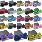 New Fashion Men's Adjustable Polka Dot Bow Tie Polyester Wedding Prom Party