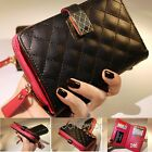 Lady Women Card Coin Purse PU Leather Wallet Soft Holder ZIP Clutch Bag Fashion