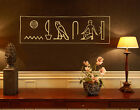 Wall Decal no.NH75 friendship  Wall Sticker Character Egypt Symbols Signs
