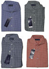 Ralph Lauren Purple Label Mens Keaton Collar Gingham Button Sport Dress Shirt