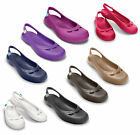 New Genuine Womens Crocs Jayna Comfort Slip On Beach Sandals Shoes Size 3-9 UK