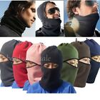 Snood Fleece  Scarf Black Hood Balaclava Neck Winter Face Mask 6 Ways to Wear