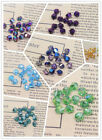 Hot 36pcs Crystal AB 6mm Color Helix beads 5020 Jewelry Finding Bracklet Made