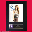 BRIDGIT MENDLER Signed Autograph Quality Mounted Photo RE-PRINT A4 506
