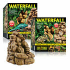 Exo Terra Reptile Vivarium Waterfall Pebble Design Includes Pump