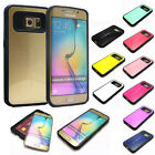 Anti-Shock Defender Armor Card Slot Dual Layered Case Cover For Samsung Galaxy