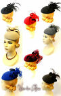 "New Ladies Vtg 1940s 50s Glamour Retro Sweetheart ""Grace"" Pin-up Pill Box Hat"