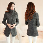 Hot Women Winter Slim Long Sleeve Jacket Coat Outwear Parka Trench Windbreaker
