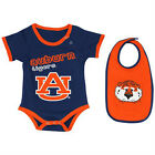 Auburn Tigers Baby Body Suit and Bib