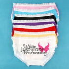 New Sweet Fashion Women Girls Sexy Cute Cotton Week Briefs Underwear Colourful