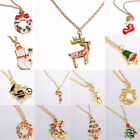 2014 Xmas Cute Fashion Jewelry Christmas Sweater Chain Necklace New Year's Gift