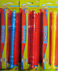 Full Size Plastic Groovy Tunes Toy Recorder Musical Instrument (Red Yellow Blue)