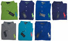 Ralph Lauren Mens Solid Big Pony Blue Green Purple Grey Polo Shirt 3X 4X 5X 6X