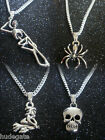 12 Halloween Pendant Necklaces Wholesale Jewellery Job Lot with FREE Delivery