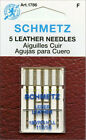 Schmetz 1786 Leather Sewing Machine Needles 130 /705H-LL 15x1 Size 110 /18