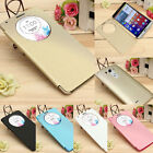 S View Flip Leather Magnetic Smart Circle Case Cover for LG Optimus G3 D855 D850