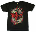 "SLIPKNOT ""STITCH HANDS"" BLACK SLIM FIT T-SHIRT NEW OFFICIAL ADULT"