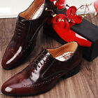 Designer Mens Leather Italian Style Dress Shoes