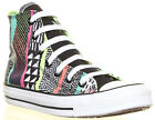Women Ladies High Top Hyperculture  Multi Colour No TV Signal Converse Print