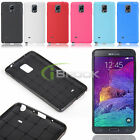 Soft Silicone Gel TPU Back Shell Case Cover Skin for Samsung Galaxy Note 4 2014