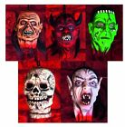 Mini Rubber Severed Head Halloween Fancy Dress Party Accessory Room Decoration