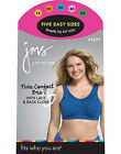 Just My Size Style 1271 Pure Comfort® Wirefree Bra with Lace Trim & Back Close